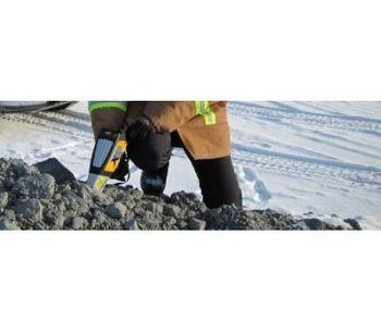 Model Delta - Mining and Geochemistry Handheld XRF Analyzer