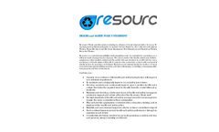 Re-source - Health & Safety Policy Brochure