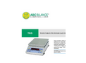 ABC - Model GAIpar - Digital Analytical Scale with Draught Shield and Tuning Fork System  Brochure