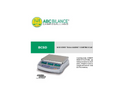 ABC - Model TRB - High Precision Stainless Steel Scale With Separated Display Brochure