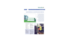 Monitoring & Maintenance Service Brochure