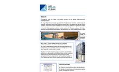Air Clean Srl Company Profile Brochure