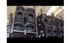 Pneumatic Door Container - Pneus Video