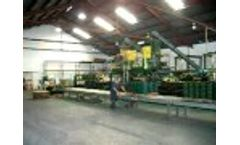 Sofscape Molding System - Value Added Tire Recycling Video
