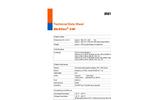 Multitec - Model 540 - Multiple Gas Measuring Device Technical Datasheet