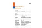 Multitec BioControl - Model 2 - Mobile Gas Measuring Device Technical Datasheet