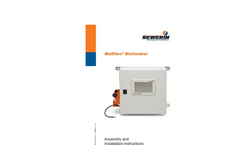 Multitec BioControl - Assembly and Installation Instructions Manual