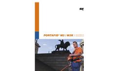 PORTAFID - Model M3/M3K - Portable Flame Ionisation Detector Brochure