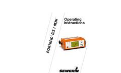 PORTAFID - Model M3/M3K - Portable Flame Ionisation Detector Operating Instructions Manual