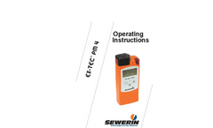 EX-TEC - Model PM 4 - Gas Detection, Gas Warning and Gas Concentration Measuring Device Manual
