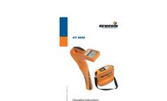 Model UT 9000 - Underground Pipe Locating Device - Operating Instructions Manual