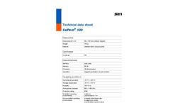 SePem - Model 100 - Noise Logger for Monitoring Water Pipe Networks - Technical Datasheet