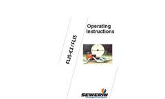 Model FLIS-EX / FLIS - Gas Warning Devices Operating Instructions Manual