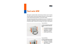 Sewerin - Model SPE - Test Sets for Measuring Devices Brochure