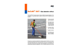SeCuRi SAT - Gas Leak Detection Outdoors System - Brochure