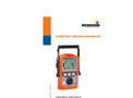 VARIOTEC 480 / 460 / 450 / 400 EX - Gas Detector for Distribution Networks - Operating Instructions Manual