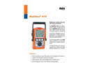 Multitec 410 - Multiple Gas Warning Device - Brochure