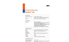 Multitec 520 - Versatile Multiple Gas Warning Device for Workplace Monitoring - Technical Datasheet
