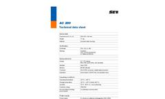 SeCorrPhon AC 200 - Correlator and Acoustic Water Leak Detector - Technical Datasheet