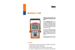 Multitec - Model 545 - Multiple Gas Measuring Device Brochure