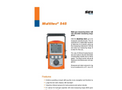 Multitec - Model 545 - Multiple Gas Measuring Device Brochure