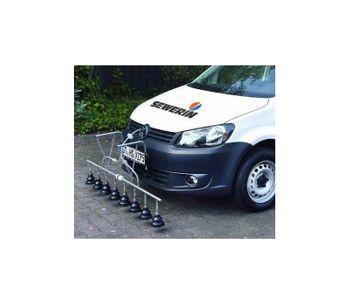 LaserGasPatroller - Model LGP 800 - Vehicle-Based Gas leak Detection