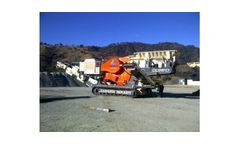 Olimpo - Model GI118C/CV - Mobile Crusher