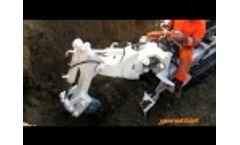 Gerotto's mini excavator Mining Gatto Video