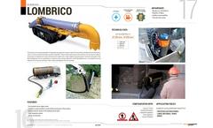 LOMBRICO - Mini Robot Excavator Brochure