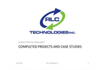 Completed Projects and Case Studies Brochure