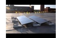 PanelClaw Grizzly Bear® Flat Roof Mounting System Video