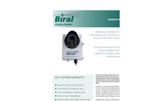 Biral - Model ALS-2 - Ambient Light Sensor - Data Sheet