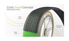 Conti GreenConcept Tire Gives Nod to Passenger Retreading