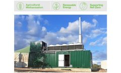SAS CMV Biogas Agricultural Methanisation, France - Case Study