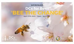 Webinar: DCs for Bees 'Bee The Change' - April 27th 2021 - Host In Ireland