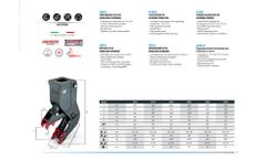 VTN - VFHM Series - Fixed Pulverizer with Hydraulic Magnet - Brochure