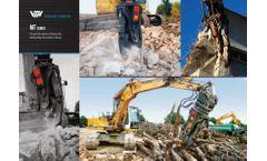 MT Series Multiutility Demolition Shear - Brochure