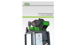 Model SE 30 - Two-Shaft Shredders Brochure