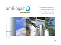 Ambiogas - Dry Anaerobic Digestion Technology  Brochure