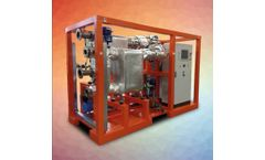 Zuccato Energia - Model ZE-30-ULH - 30-KWE, Skid-Mounted, Low-Temperature Organic Rankine Cycle (LT-ORC) Energy Production Module