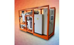 Zuccato Energia - Model ZE-50-ULH - 50-KWE, Skid-Mounted, Low-Temperature Organic Rankine Cycle (LT-ORC) Energy Production Module