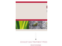 Exhaust Gas Treatment Products Catalogue