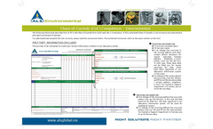 Environmental Analytical Testing Services Brochure