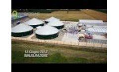 Ies Biogas - Inauguration Villadose (RO) Video