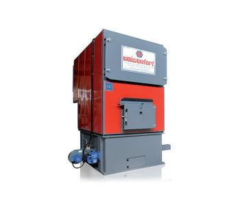 Uniconfort - Model EOS Series - Biomass Boiler