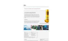 DESMI - DSL - Vertical in-line Double Suction Centrifugal Pump - Brochure