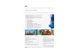 DESMI - Model NSL - Vertical Centrifugal Pump Brochure