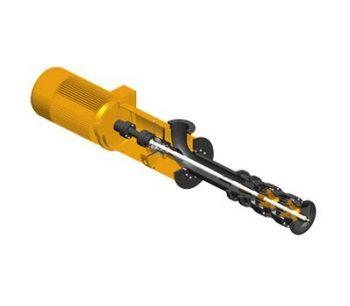 DESMI - Model Deslube Series - Submerged Lubrication Oil Pump