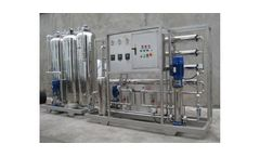 Model 3000LPH - Stainless Steel Reverse Osmosis Equipment