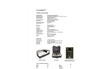 Model FLUO-IMAGER SERIES - Multipurpose Spectral Analyser Brochure